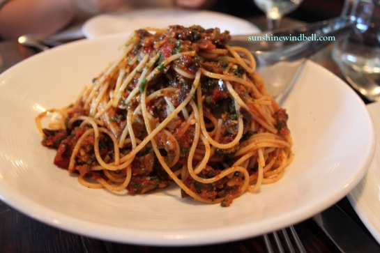 Veal and Tomato Pasted Spaghetti